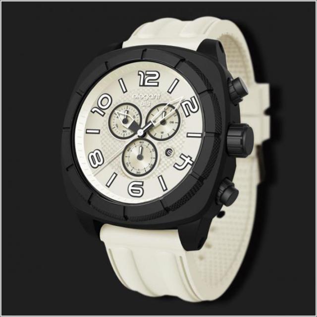 エレガントシス elegantsis 腕時計 ELJT66-FW06LC スポーツスタイル サーファーモデル