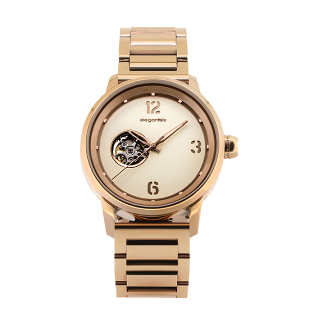 エレガントシス elegantsis 腕時計 ELJT75A-NO03MA ゴールデンファッショナブル レディースモデル