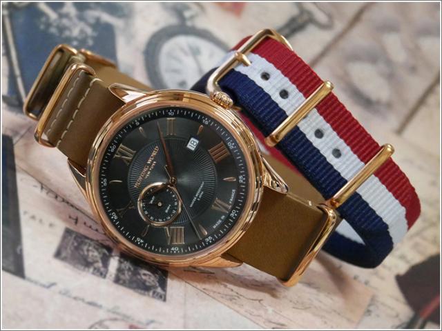 ハンティングワールド HUNTING WORLD 腕時計 HWG010PBK テキスタイル替ベルト付 レザーベルト クォーツ