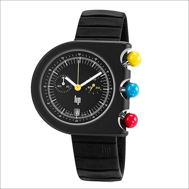 リップ LIP 腕時計 670080 マッハ2000 クロノグラフ ラバーベルト クォーツ
