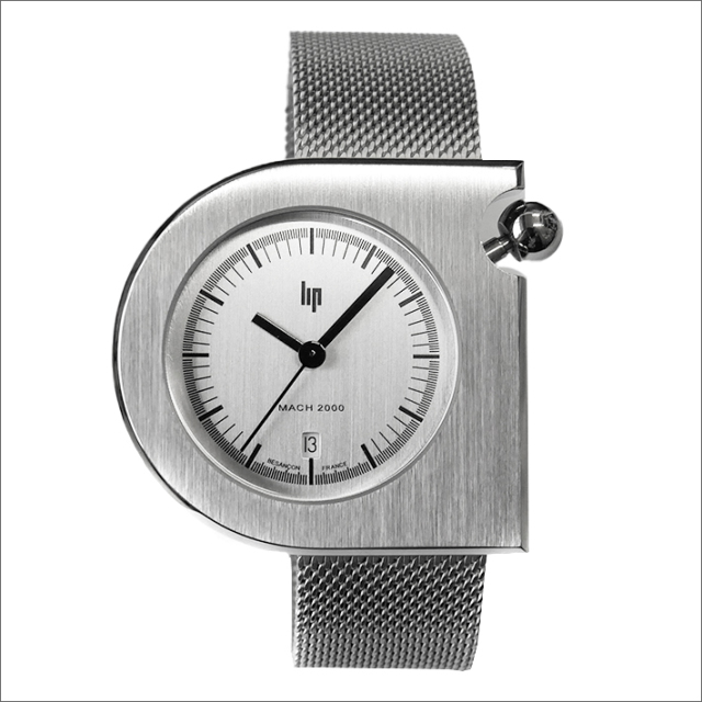 リップ LIP 腕時計 671084 (229053) マッハ2000 メッシュメタルベルト クォーツ