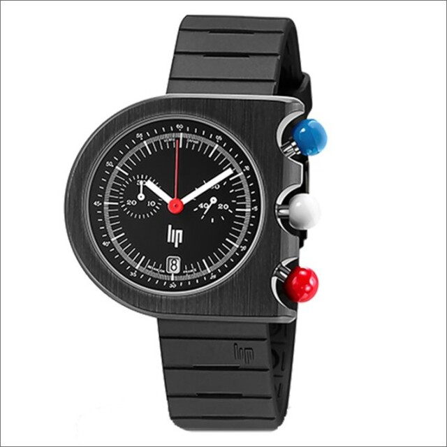 リップ LIP 腕時計 671159 マッハ2000 クロノグラフ ラバーベルト クォーツ