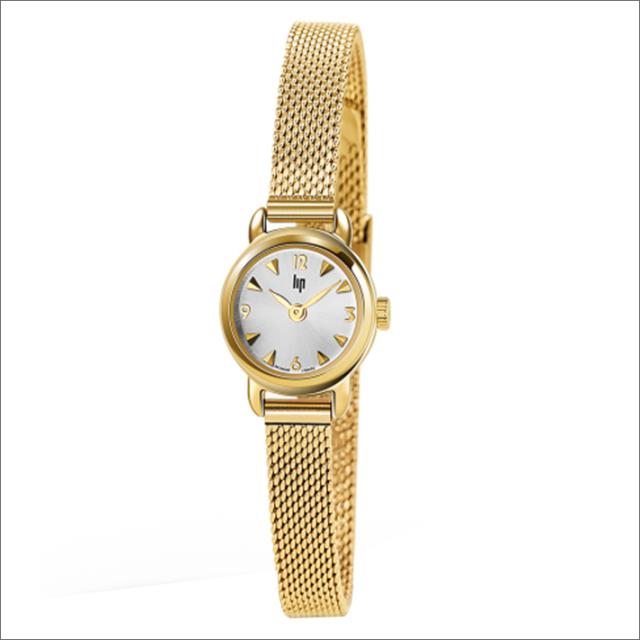 リップ LIP 腕時計 671265 アンリエッテ メッシュメタル ベルト クォーツ レディース