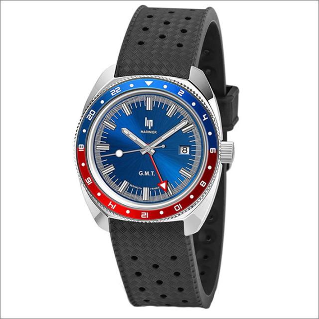 リップ LIP 腕時計 671371 (229038) MARINIER GMT ラバーベルト クォーツ