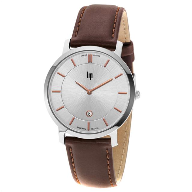 リップ LIP 腕時計 671702 (229036) VALENTIN レザーベルト クォーツ