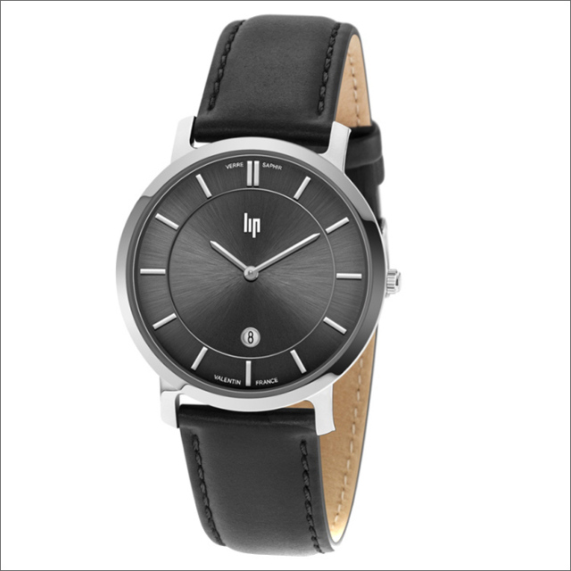 リップ LIP 腕時計 671703 (229037) VALENTIN レザーベルト クォーツ
