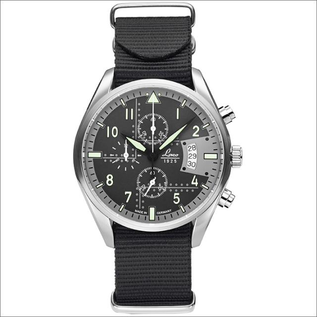 Laco ラコ 腕時計 861917BK CHRONOGRAPH Detroit デトロイト クォーツ ナイロンベルト