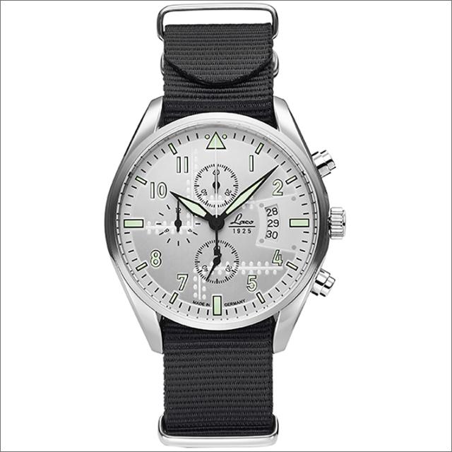 Laco ラコ 腕時計 861918BK CHRONOGRAPH Seattle シアトル クォーツ ナイロンベルト アウトレット