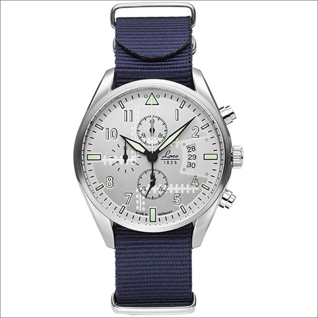 Laco ラコ 腕時計 861918BL CHRONOGRAPH Seattle シアトル クォーツ ナイロンベルト アウトレット