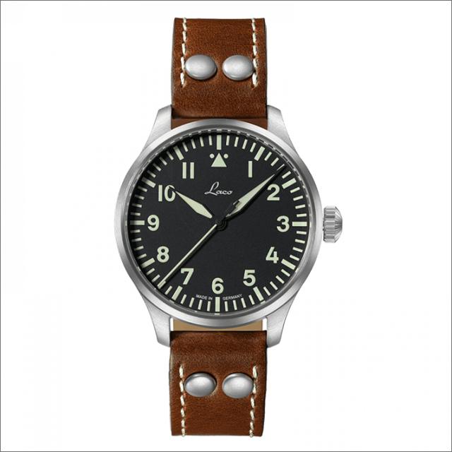 Laco ラコ 腕時計 861988 PILOT Augsburg 39 アウクスブルク 39 機械式自動巻 レザーベルト
