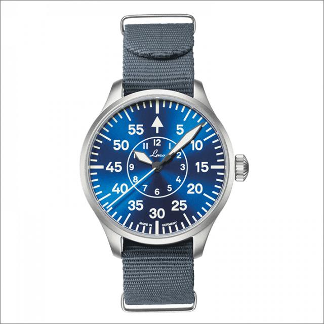 Laco ラコ 腕時計 862103 PILOT Aachen 39 BlaueStunde アーヘン 39 ブラウ シュトゥンデ 機械式自動巻 ナイロンベルト