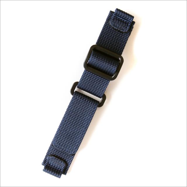 時計替ベルト ナイロン ブルー 20mm幅