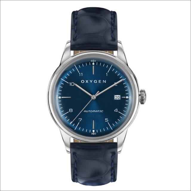 オキシゲン OXYGEN 腕時計 シティレジェンド 40 KARL AUTO L-CA-KAR-40 (224354) 機械式自動巻 レザーベルト