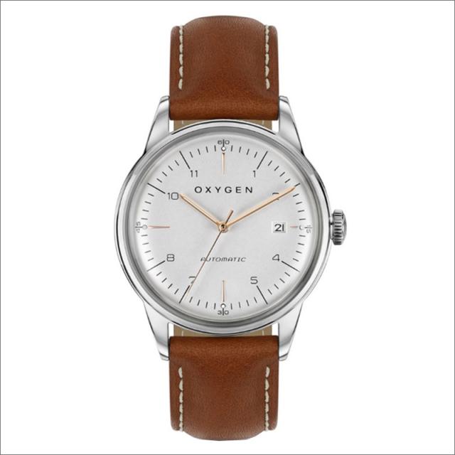 オキシゲン OXYGEN 腕時計 シティレジェンド 40 MARIO AUTO L-CA-MAR-40 (224353) 機械式自動巻 レザーベルト