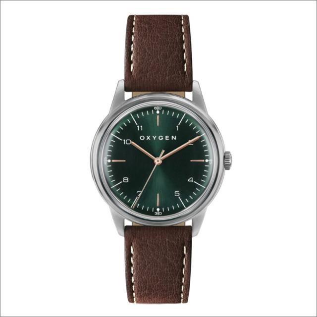 オキシゲン OXYGEN 腕時計 シティレジェンド 36 HELMUT L-C-HEL-36 (224345) クォーツ 3針 レザーベルト