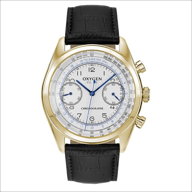 オキシゲン OXYGEN 腕時計 クロノレジェンド 41 RUBENS L-CH-RUB-41 (224321) レザーベルト