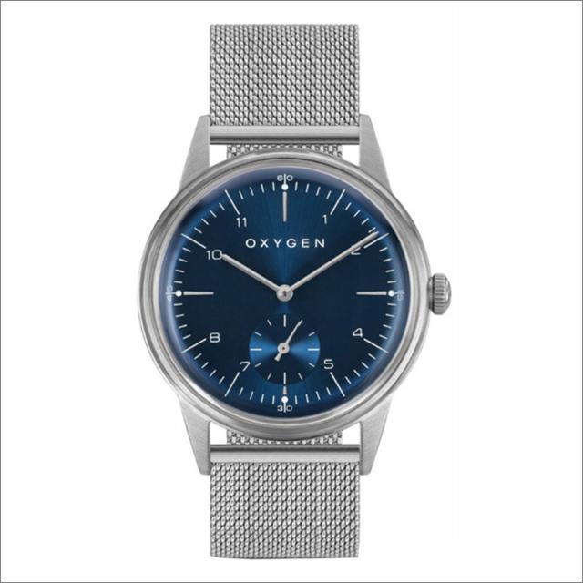 オキシゲン OXYGEN 腕時計 シティレジェンド 40 KARL L-C-KAR-40M (224351) クォーツ スモールセコンド メッシュメタルベルト