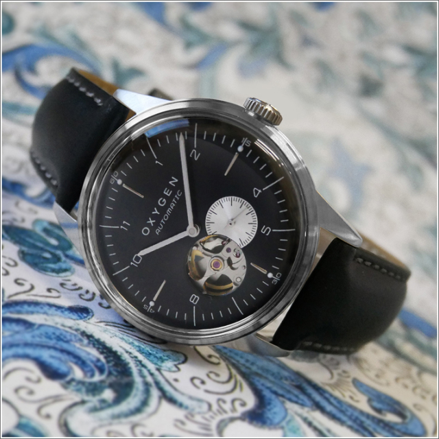 オキシゲン OXYGEN 腕時計 シティレジェンド 40 FELIX AUTO L-COA-FEL-40 (224357) 機械式自動巻 レザーベルト