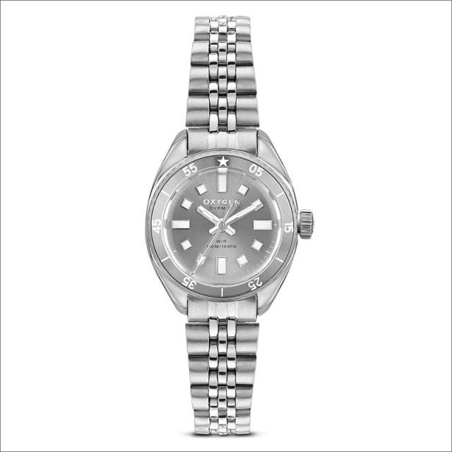 オキシゲン OXYGEN 腕時計 ダイバーレジェンド ミニ26 ANEMONE L-DM-ANE-26 (224361) クォーツ 3針 メタルベルト