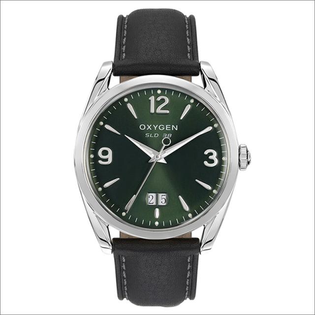 オキシゲン OXYGEN 腕時計 スポーツレジェンド 38 CARL L-S-CAR-38 (224308) クォーツ デイト レザーベルト