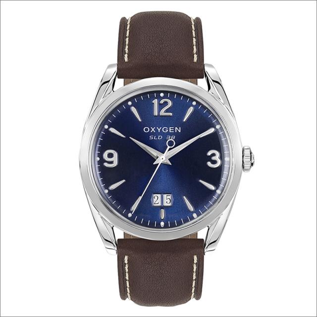 オキシゲン OXYGEN 腕時計 スポーツレジェンド 38 GRANT L-S-GRA-38 (224309) クォーツ デイト レザーベルト