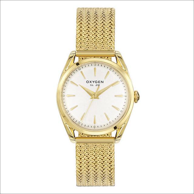 オキシゲン OXYGEN 腕時計 スポーツレジェンド 28 LIMON L-S-LIM-28 (224316) メッシュメタルベルト
