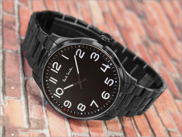 ポールスミス PAUL SMITH 腕時計 P10066 メンズ メタルベルト