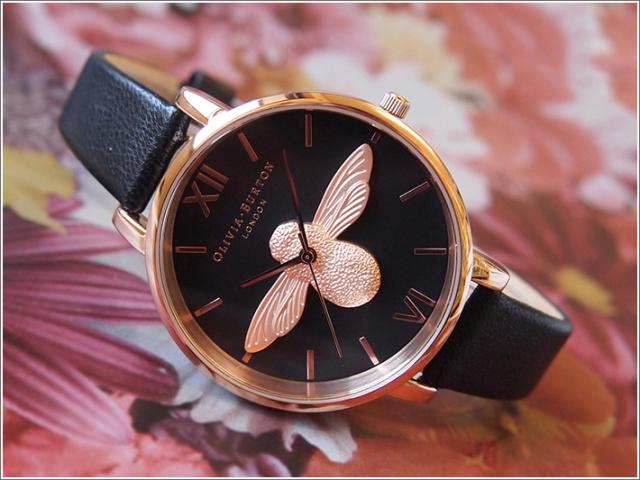 オリビアバートン OLIVIA BURTON 腕時計 OB16AM98 レディース レザーベルト