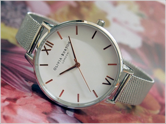 オリビアバートン OLIVIA BURTON 腕時計 OB16BD97 レディース メッシュメタルベルト