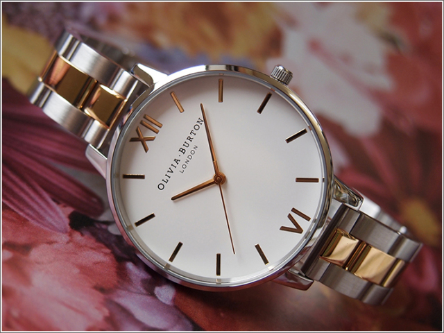 オリビアバートン OLIVIA BURTON 腕時計 OB16BL45 レディース メタルベルト