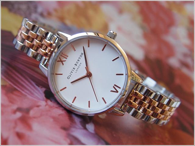 オリビアバートン OLIVIA BURTON 腕時計 OB16MDW25 レディース メタルベルト