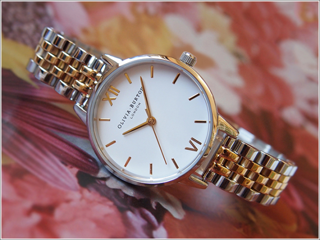 オリビアバートン OLIVIA BURTON 腕時計 OB16MDW34 レディース メタルベルト