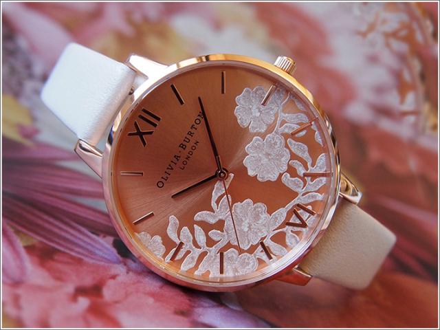 オリビアバートン OLIVIA BURTON 腕時計 OB16MV53 レディース レザーベルト