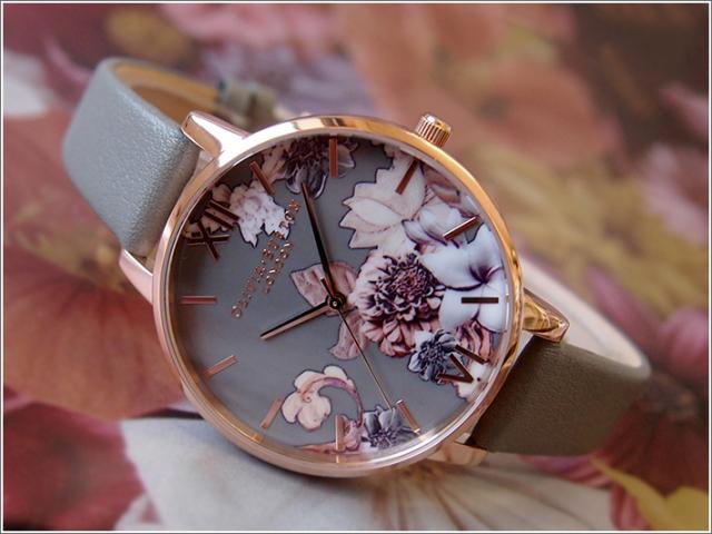 オリビアバートン OLIVIA BURTON 腕時計 OB16CS08 レディース レザーベルト
