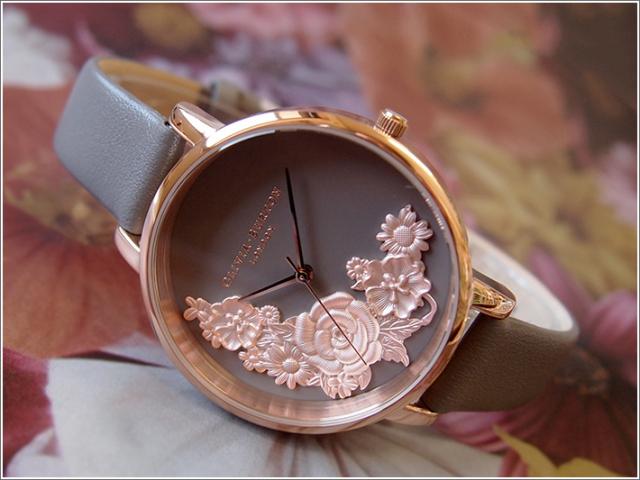 オリビアバートン OLIVIA BURTON 腕時計 OB16FS99 レディース レザーベルト