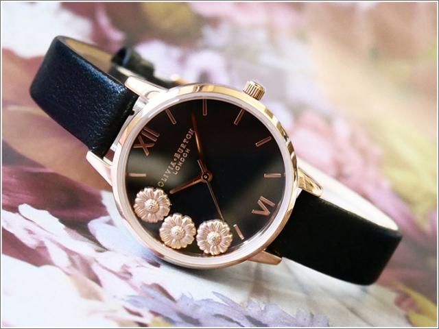 オリビアバートン OLIVIA BURTON 腕時計 OB16CH05 レディース レザーベルト