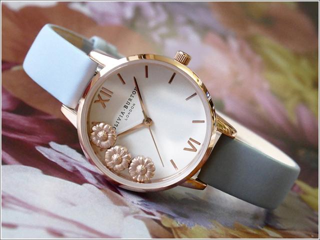 オリビアバートン OLIVIA BURTON 腕時計 OB16CH04 レディース レザーベルト