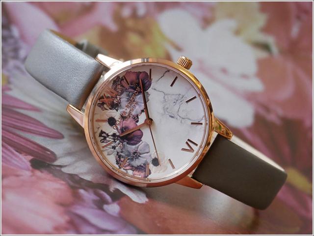 オリビアバートン OLIVIA BURTON 腕時計 OB16MF08 レディース レザーベルト
