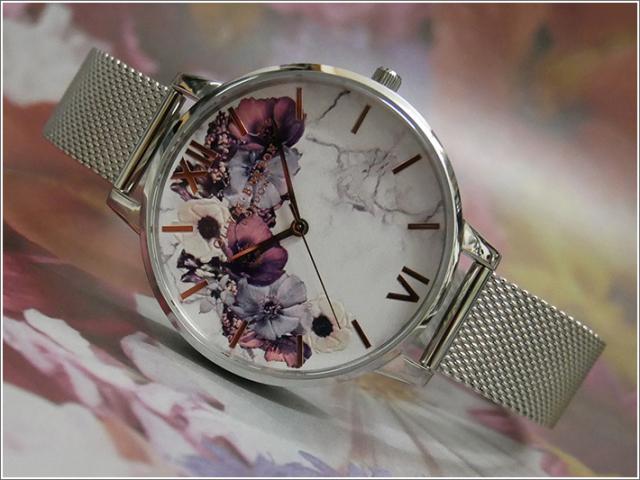 オリビアバートン OLIVIA BURTON 腕時計 OB16MF09 レディース メッシュメタルベルト
