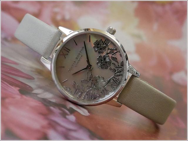 オリビアバートン OLIVIA BURTON 腕時計 OB16MV93 レディース レザーベルト