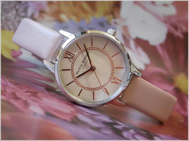 オリビアバートン OLIVIA BURTON 腕時計 OB16WD66 レディース レザーベルト