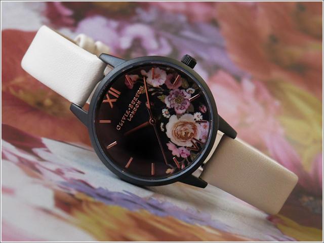 オリビアバートン OLIVIA BURTON 腕時計 OB16AD30 レディース レザーベルト