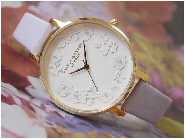 オリビアバートン OLIVIA BURTON 腕時計 OB16AR02 レディース レザーベルト