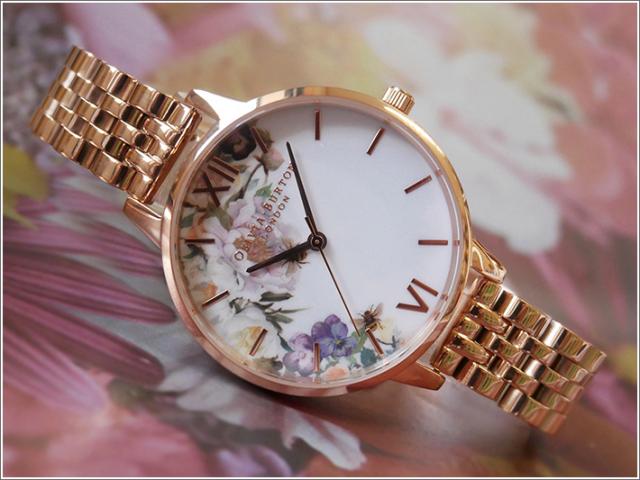 オリビアバートン OLIVIA BURTON 腕時計 OB16EG135 レディース メタルベルト