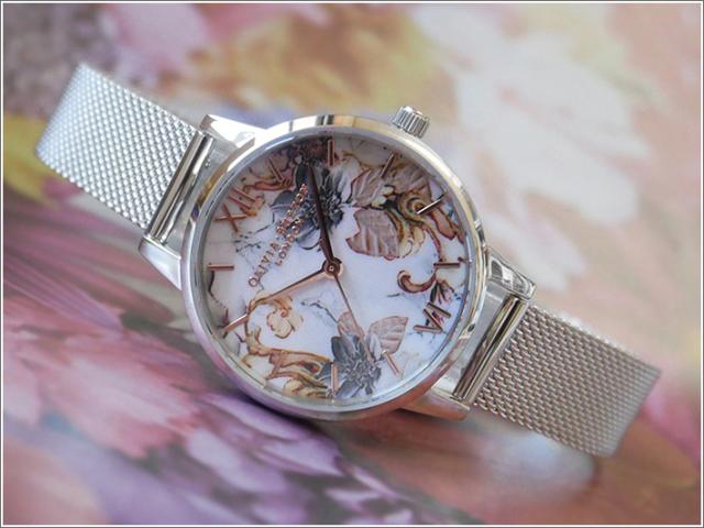 オリビアバートン OLIVIA BURTON 腕時計 OB16CS16 レディース メッシュメタルベルト