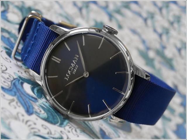 ロックマン LOCMAN 腕時計 0251V02-00BLNKNB 1960 テキスタイルベルト
