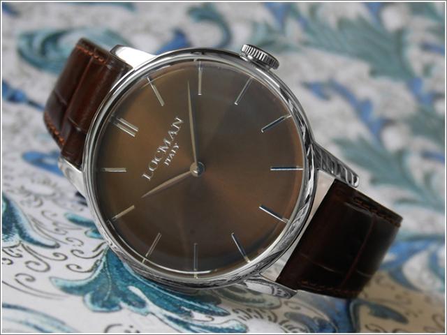 ロックマン LOCMAN 腕時計 0251V04-00BNNKPT 1960 レザーベルト