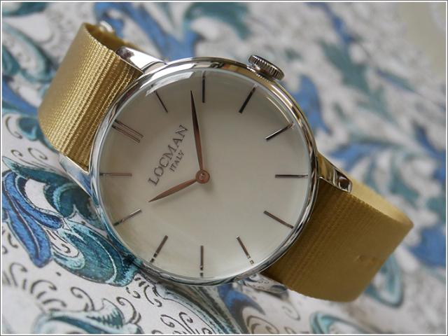 ロックマン LOCMAN 腕時計 0251V05-00AVNKNH 1960 テキスタイルベルト