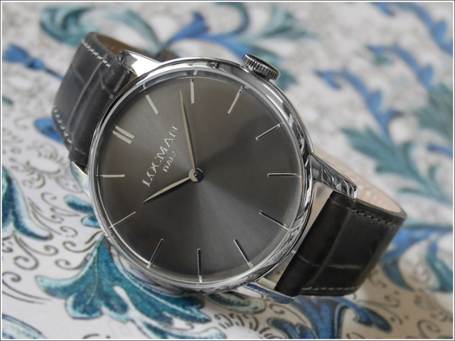 ロックマン LOCMAN 腕時計 0251V07-00GYNKPA 1960 レザーベルト