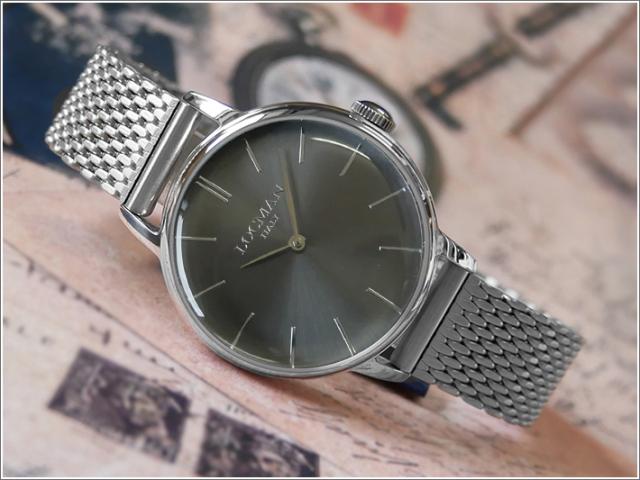 ロックマン LOCMAN 腕時計 0253A07A-00GYNKB0 1960 LADY メッシュメタルベルト